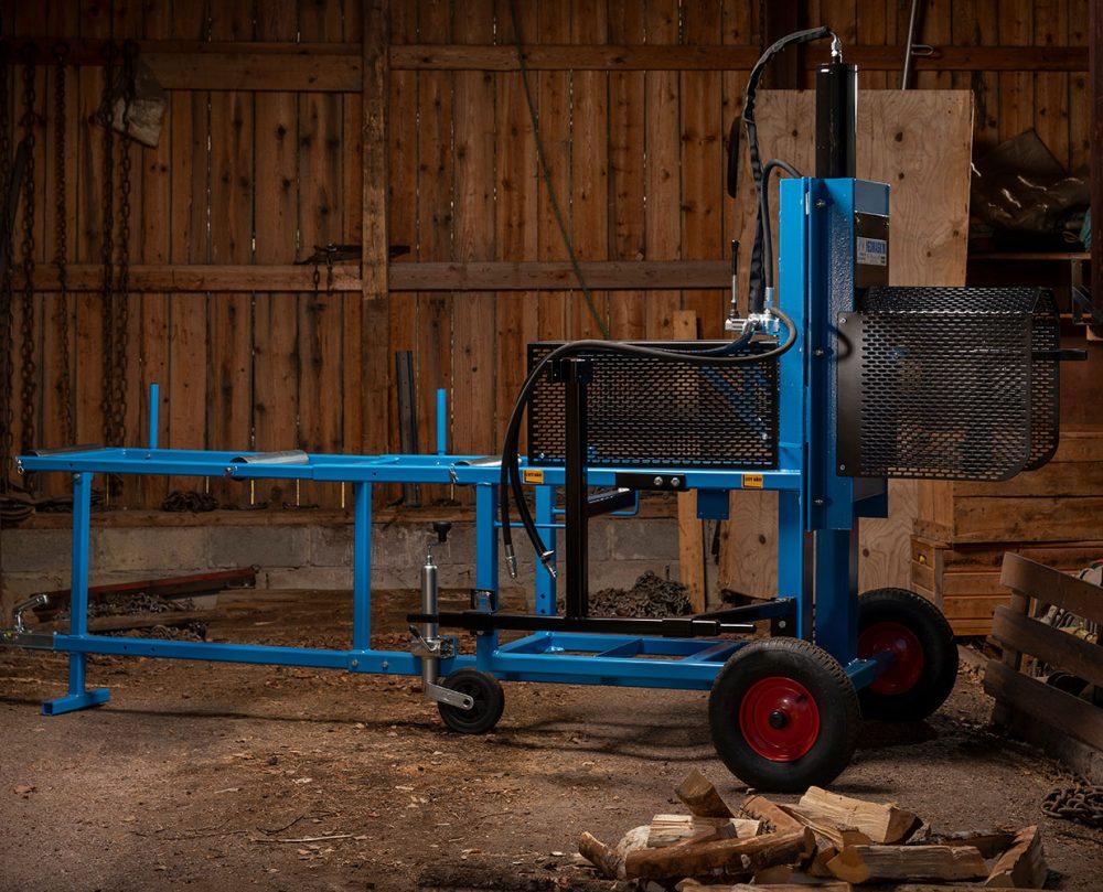 PW Vedmaskin for Traktordrift i loge