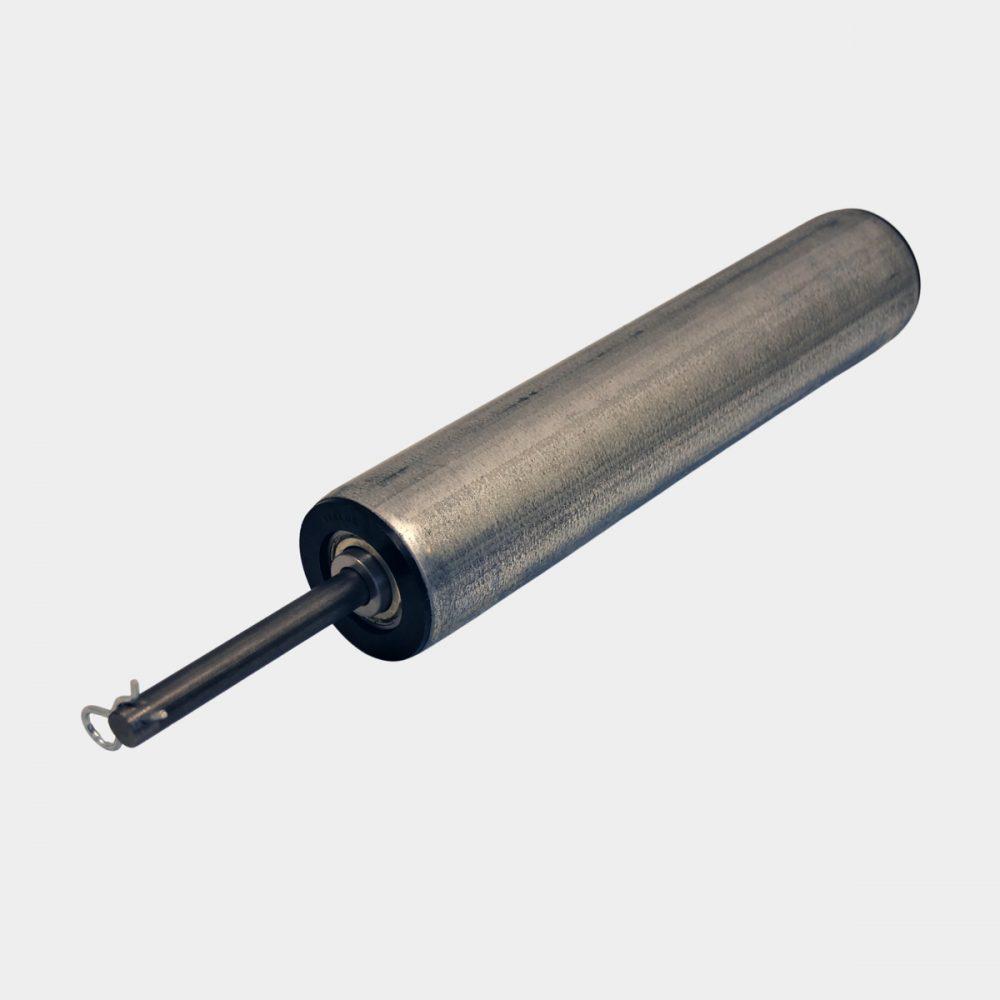 Reservdelen Rulle R76mm med axel, Vedmaskin