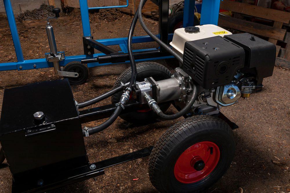 Hydraulaggregat Bensin till vedkklyvar och vedmaskiner